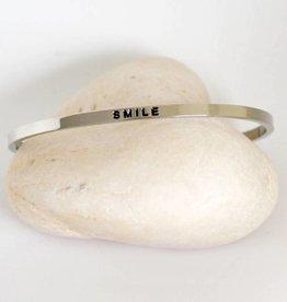 Prana Prana armband Smile-silver