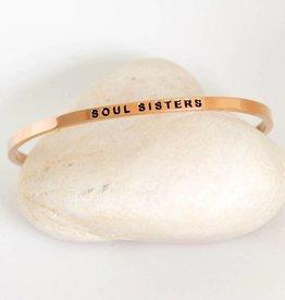 Prana Prana armband Soul Sisters-rose gold