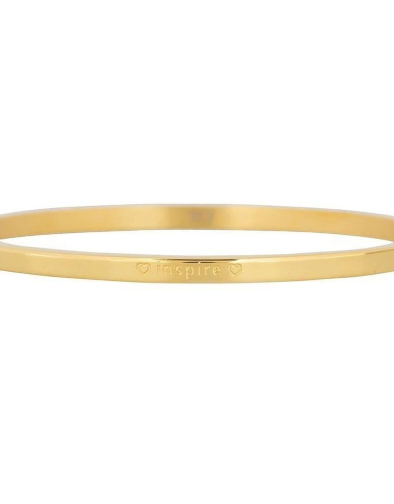 My Jewelry Bangle 3.0 'Inspire'-gold