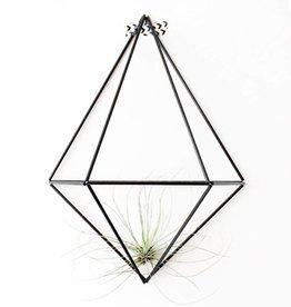 Draadzaken DIY wall planter Diamond-black