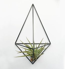 Draadzaken DIY wall planter Facet-black