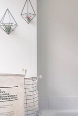 Draadzaken DIY wall planter Facet-black