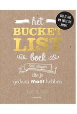 Lannoo Het bucketlist boek
