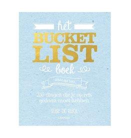 Lannoo Het bucketlist boek voor op reis