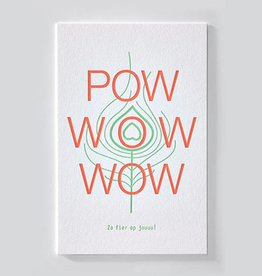 Papette Wenskaart ENNA-Pow wow wow