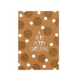 Räder Wenskaart sparkling-Merry Christmas