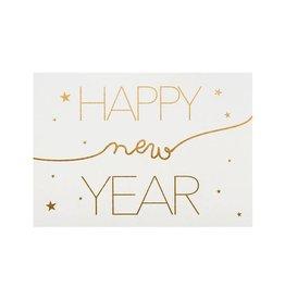 Räder Wenskaart-Happy New Year