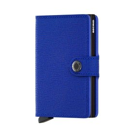 Secrid Miniwallet Crisple-blue black