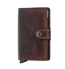 Secrid Miniwallet Vintage-chocolate