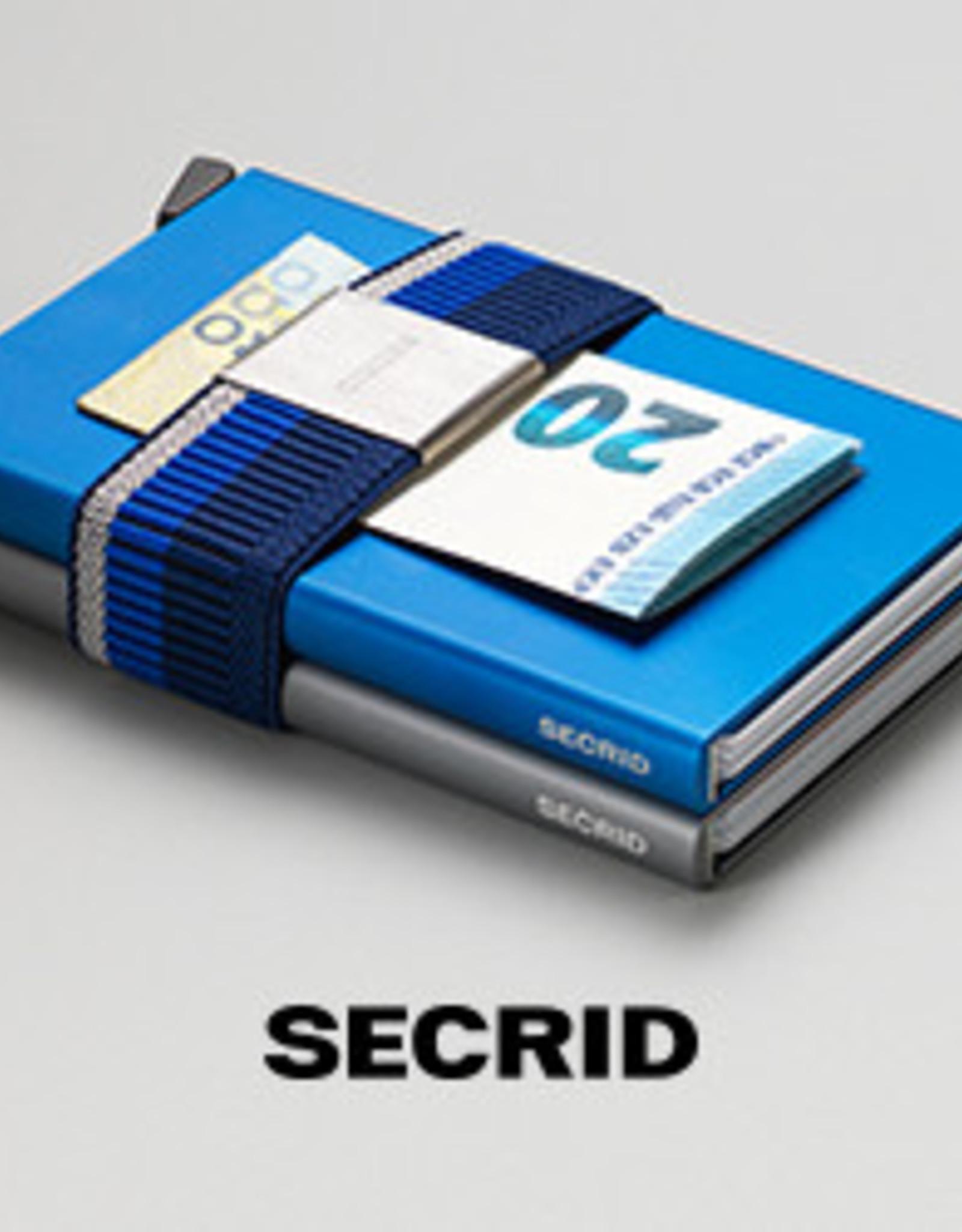 Secrid Moneyband-skyscraper blue/grey