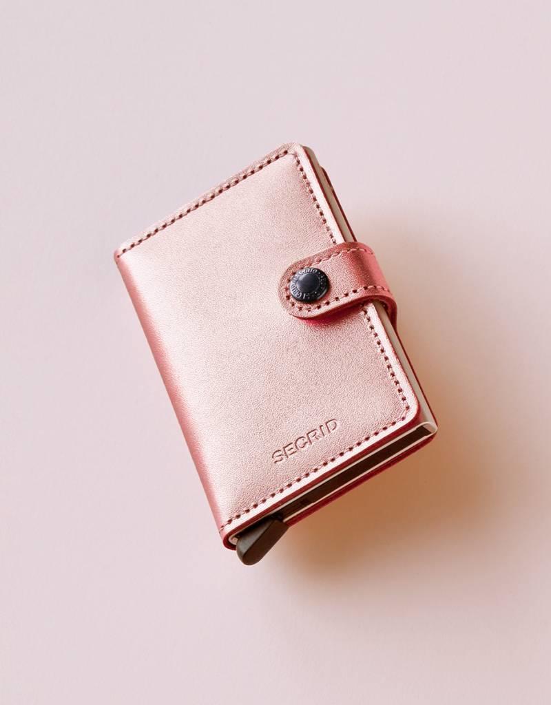 3aad59261b9 Secrid Miniwallet Metallic-rose - Mini Butik
