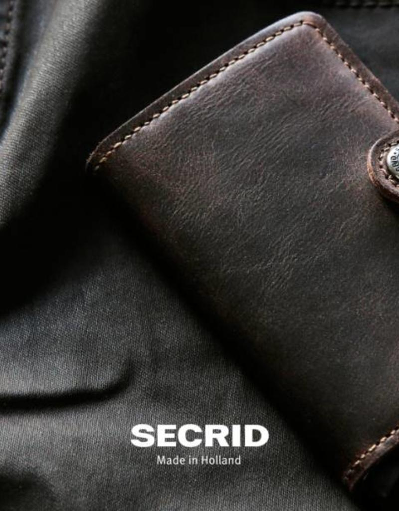 Secrid Miniwallet Vintage-chocolate