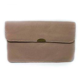 Flat Wallet-beige