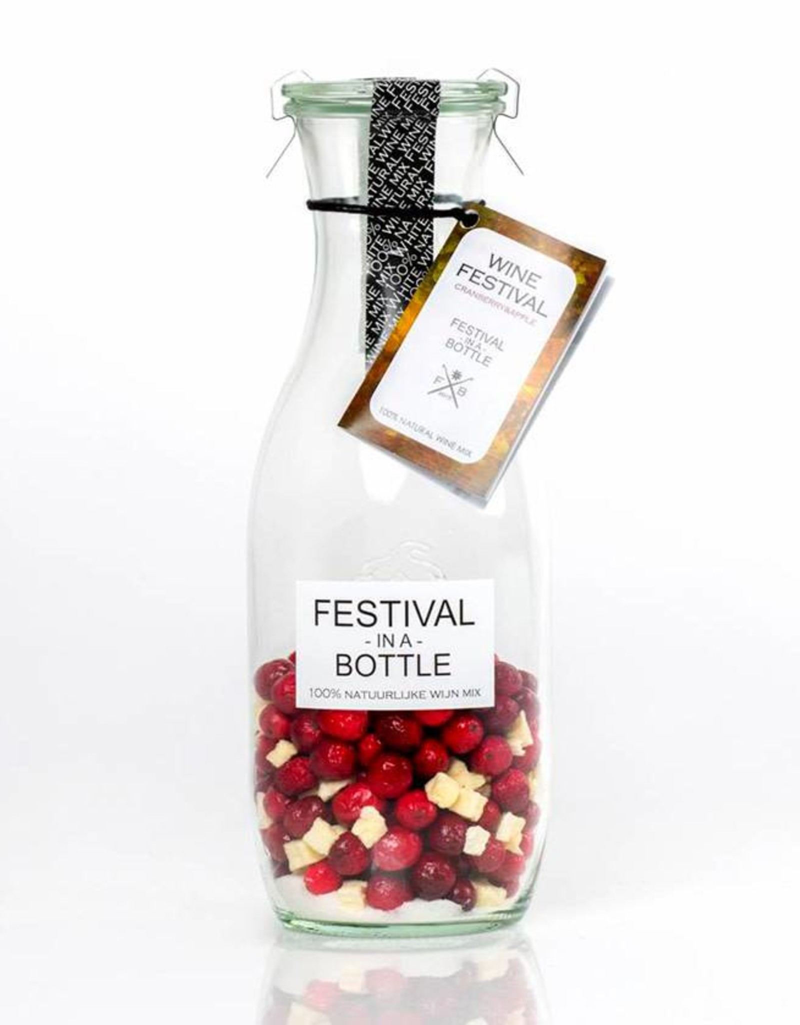 Festival in a Bottle Wine Festival Cranberry & Apple-Fles 750ML