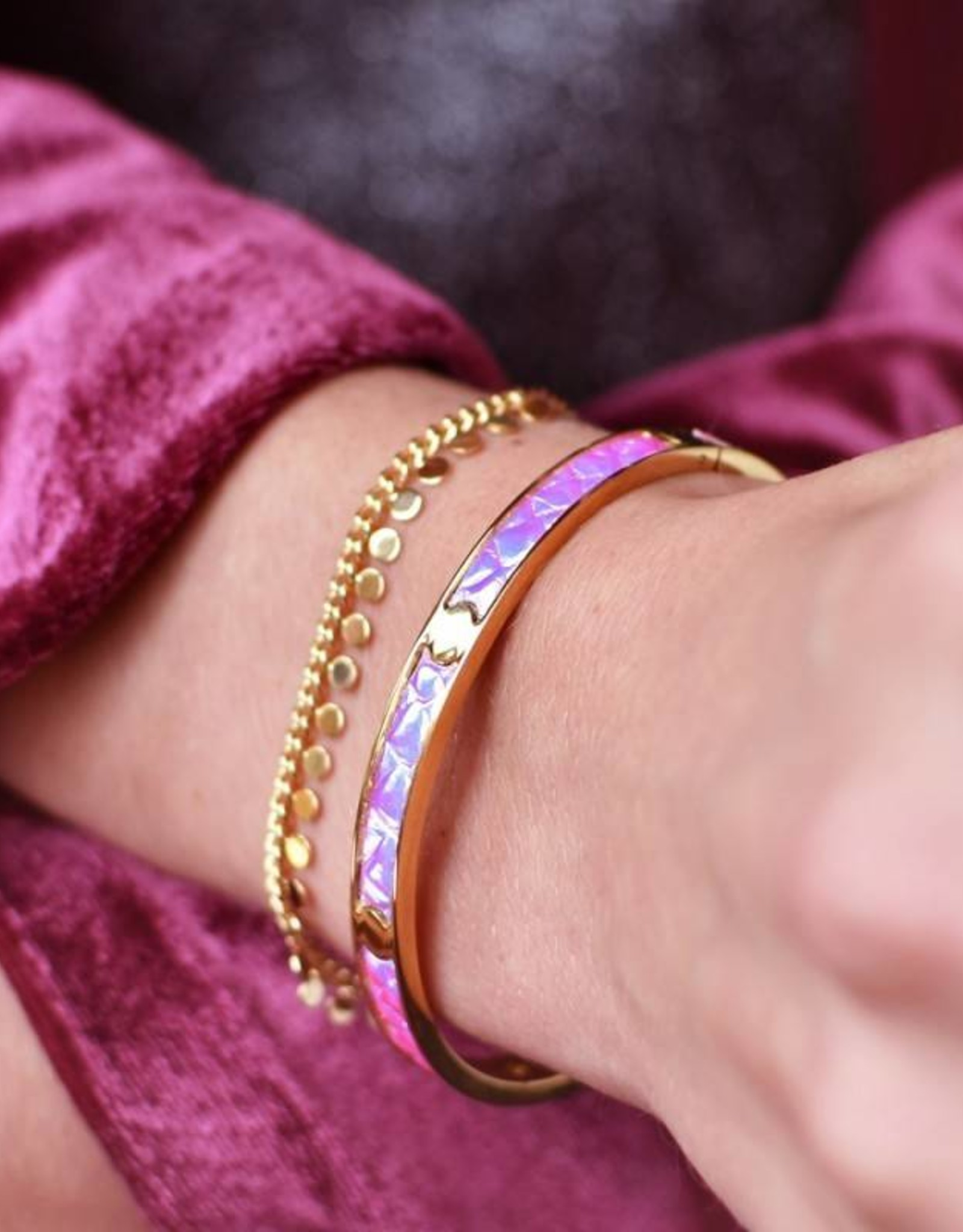 My Jewelry Armband Coins-gold