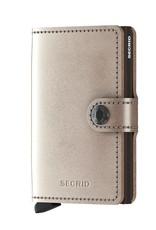 Secrid Miniwallet Metallic-champagne gold