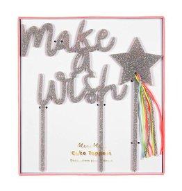 Meri Meri Cake Toppers-make a wish