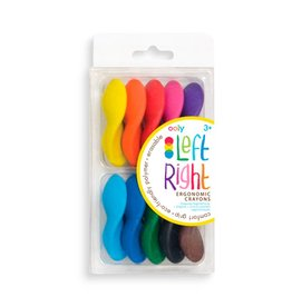 Ooly Left Right Crayons-10 stuks