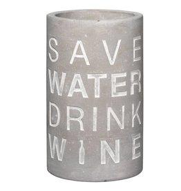 Räder Wine cooler Concrete-save water drink wine