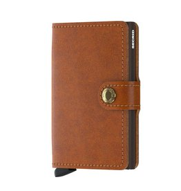 Secrid Miniwallet Original-cognac brown