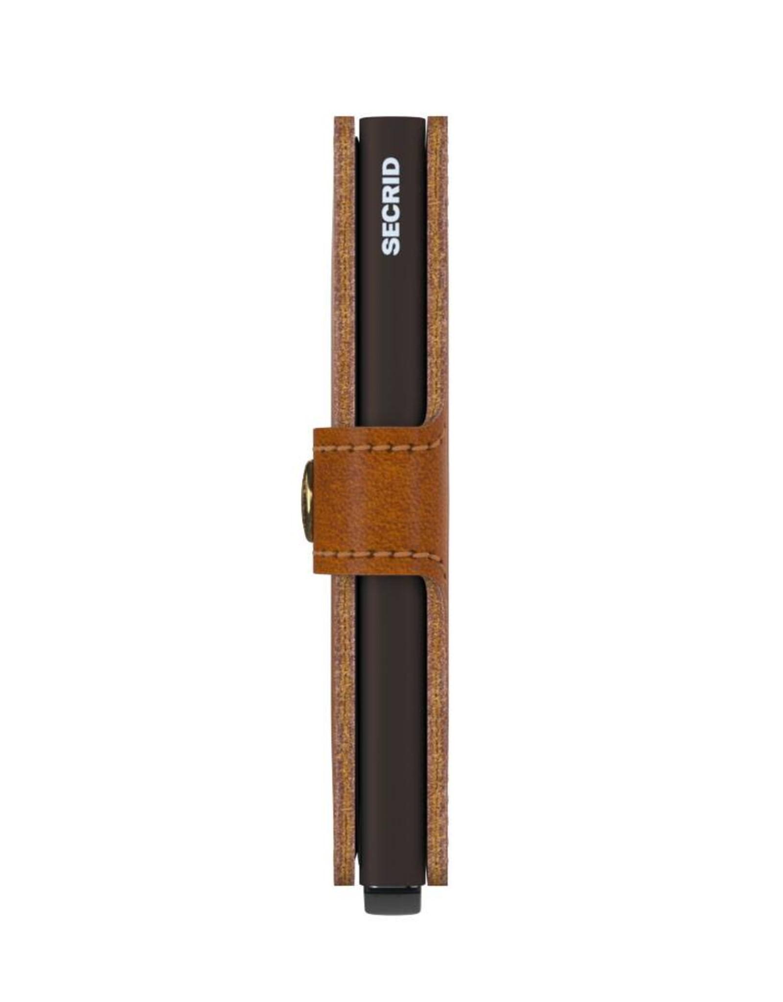 Secrid Miniwallet Original-cognac brown