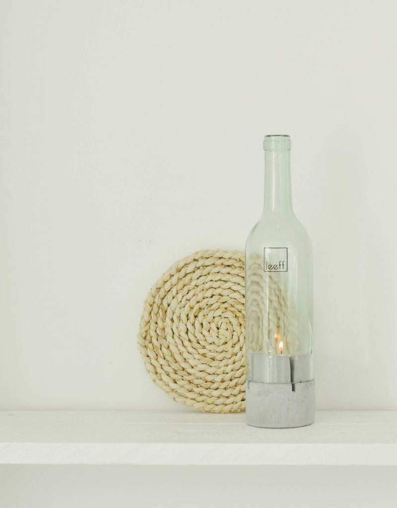 Leeff Bottlelight glass-concreet