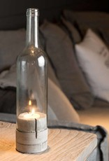 Leeff Bottlelight glass-concreet