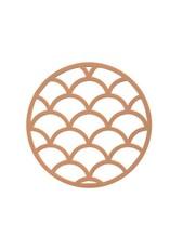 Onderzetter Pine-butterscotch silicone