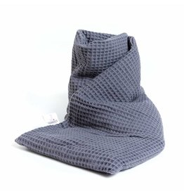 Janneke's Warmtesjaal Warmtesjaal Origineel Wafelstof-grijs