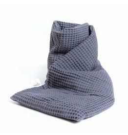 Janneke's Warmtesjaal Warmtesjaal Wafelstof-grijs