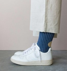 Monk & Anna Socks WOMAN Glitter Stripes-blue