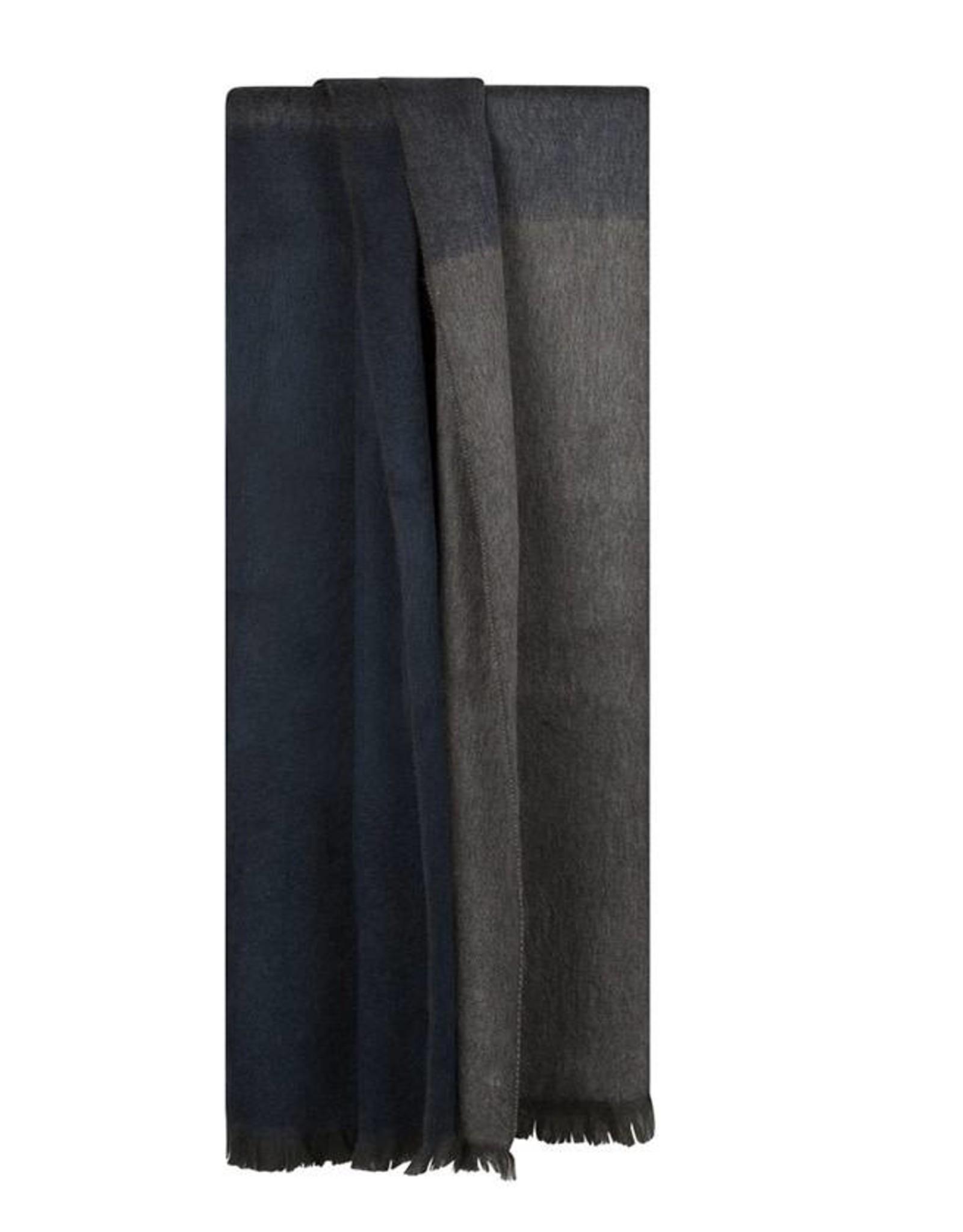Bufandy Alpaca sjaal Ombre-slate grey blue