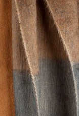 Bufandy Alpaca sjaal Ombre-shaded caramel