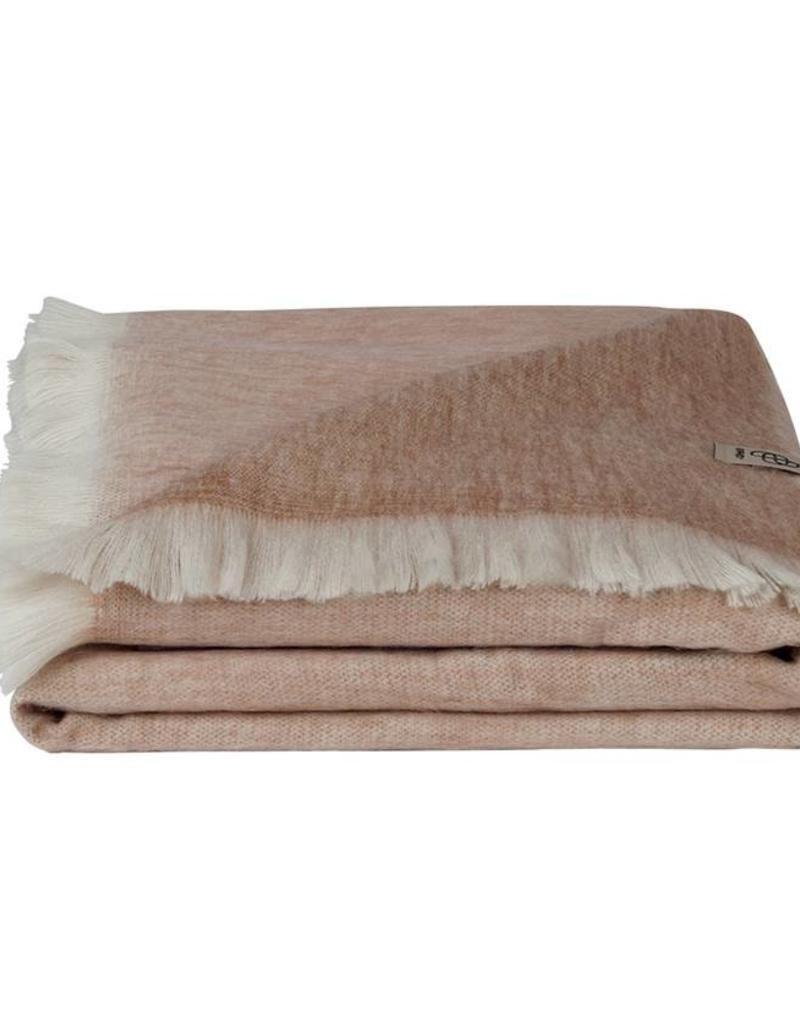 Bufandy Alpaca sjaal Fabian-blush rose
