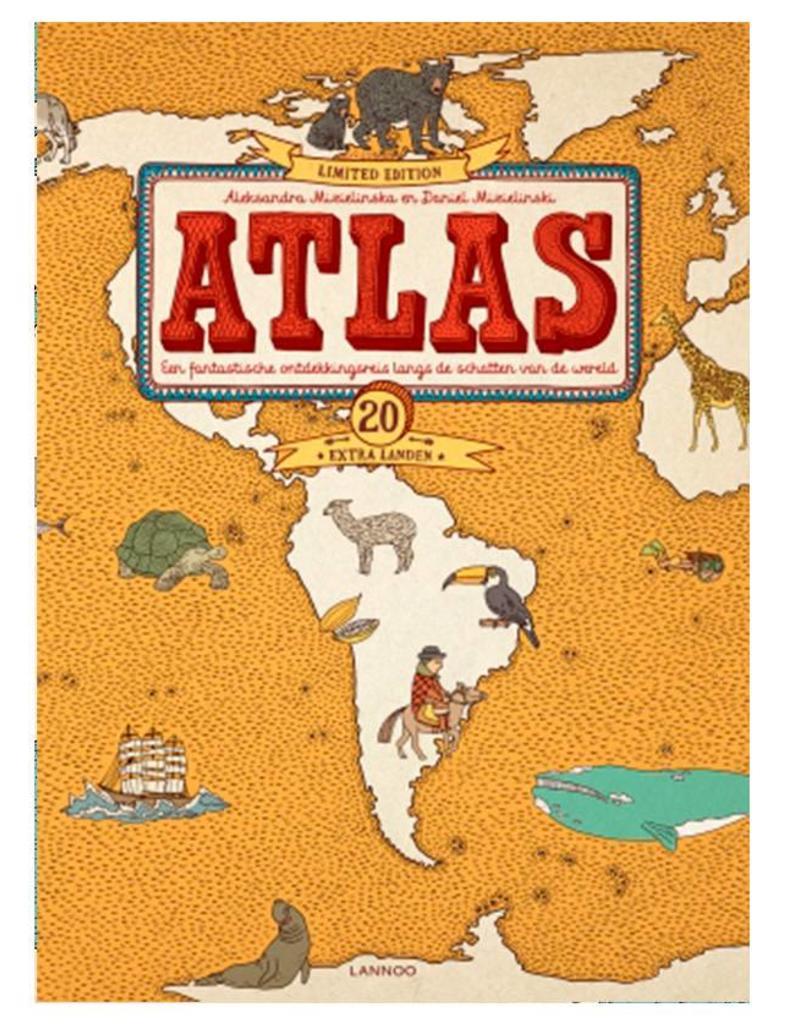 Lannoo Atlas Luxe Editie