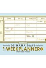 Lannoo Mama baas-Weekplanner