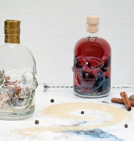 Festival in a Bottle Pirate Skull Spiced Rum-Fles 450ML