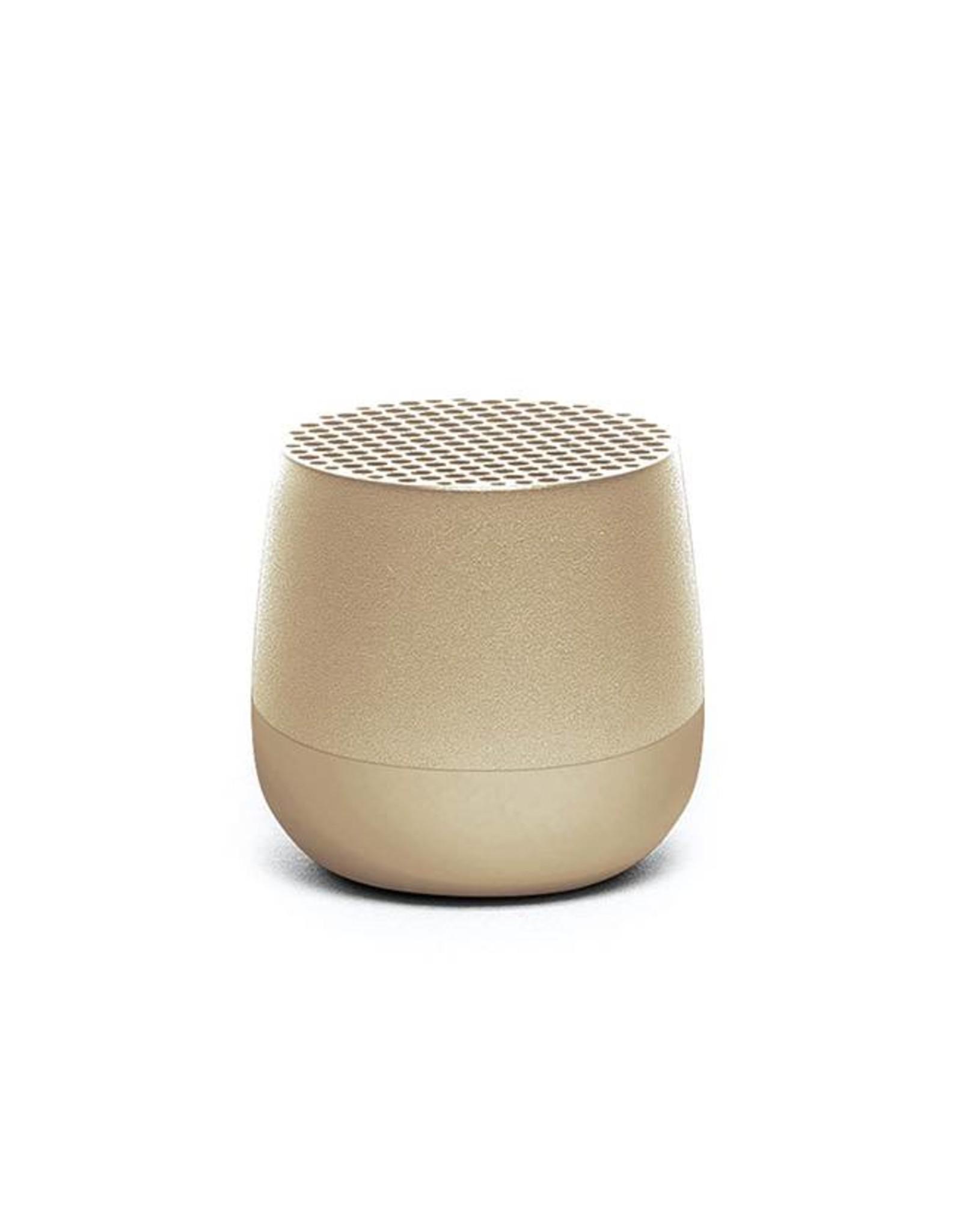 Lexon Mino geluidsbox-gold