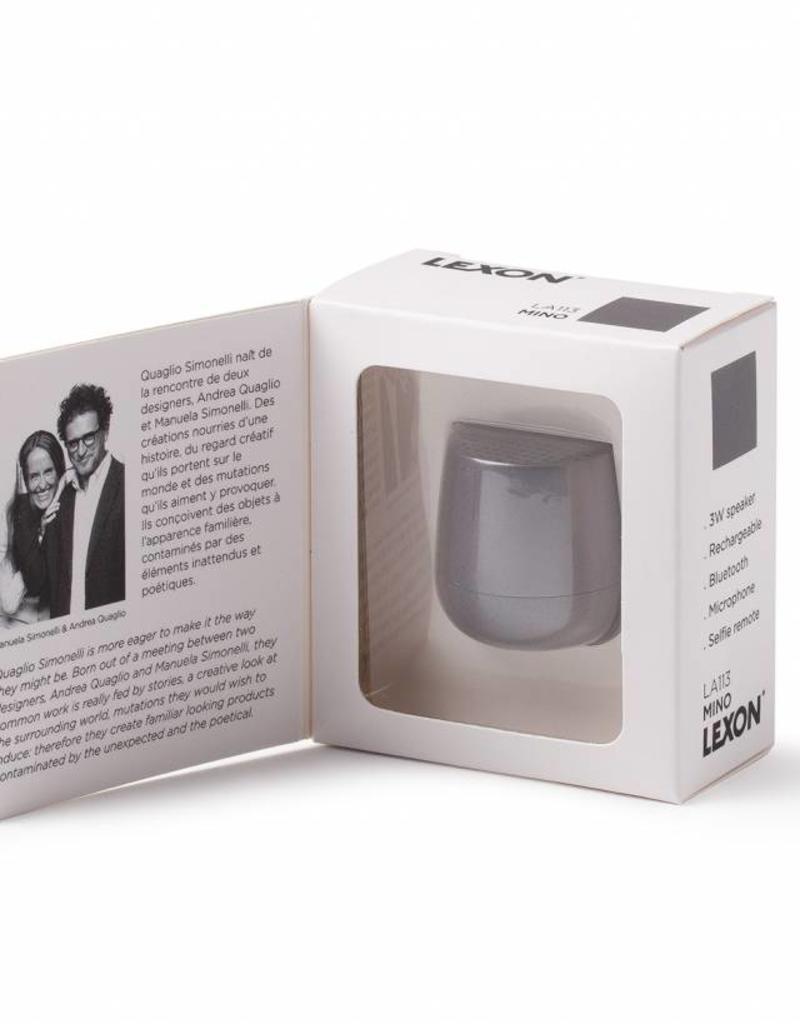 Lexon Mino geluidsbox-grey