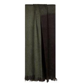 Bufandy Alpaca sjaal Ombre-moody green