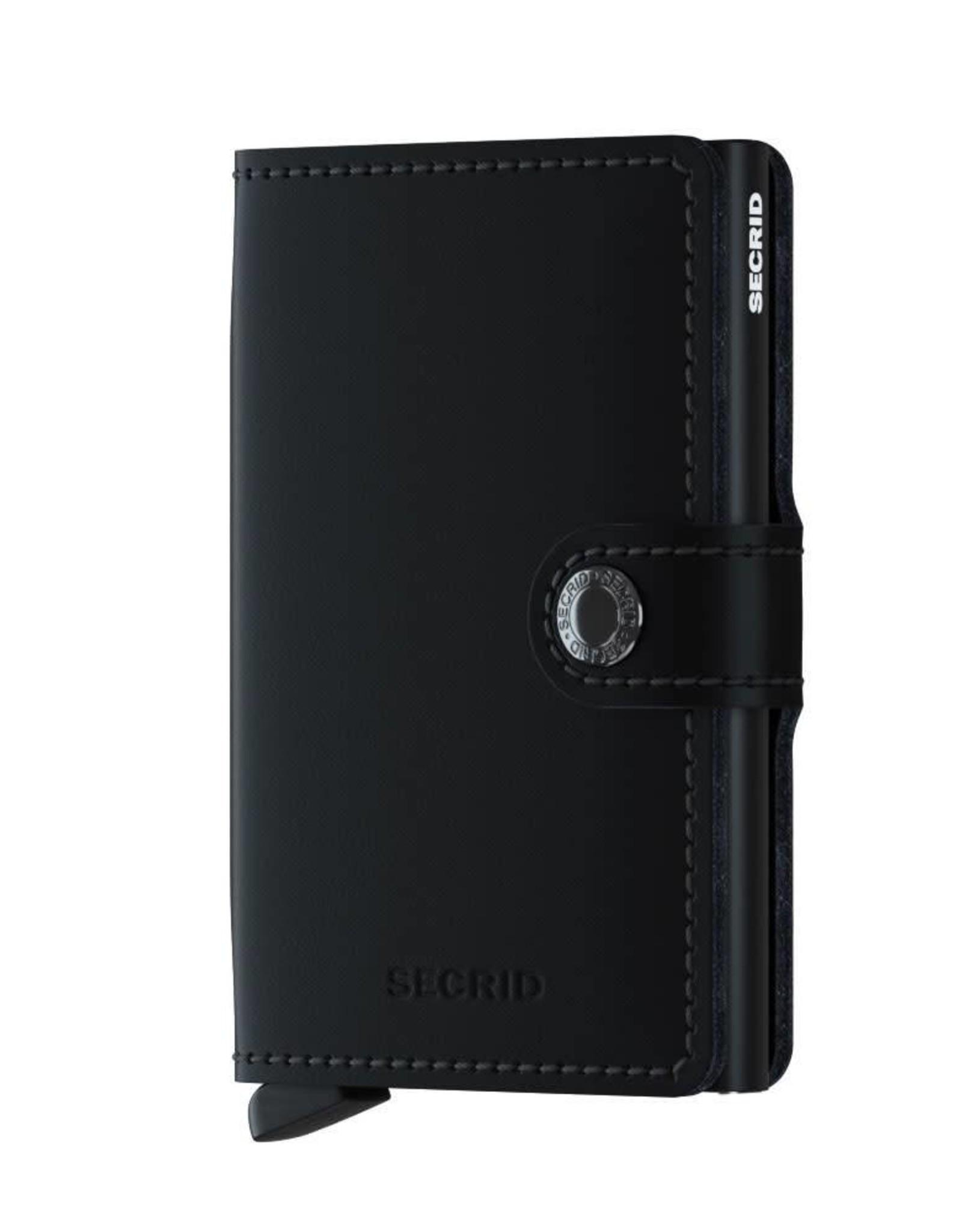 Secrid Miniwallet Matte-black