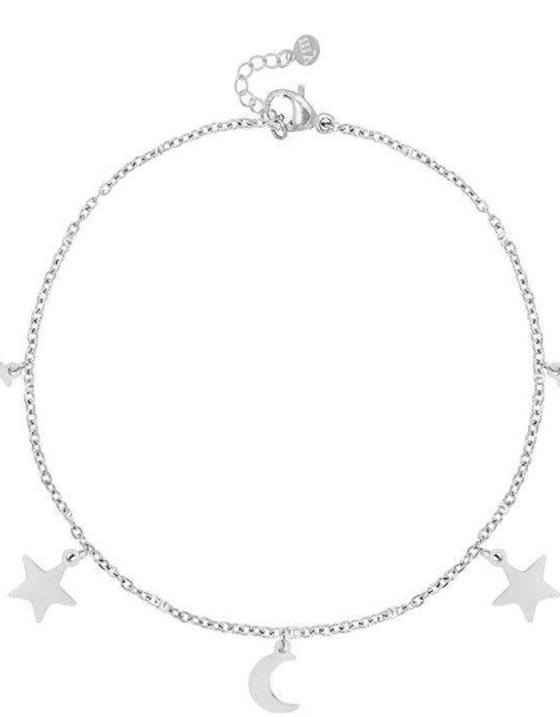 My Jewelry Armband Moon & Stars-silver