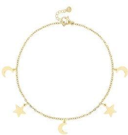 My Jewelry Armband Moon & Stars-gold