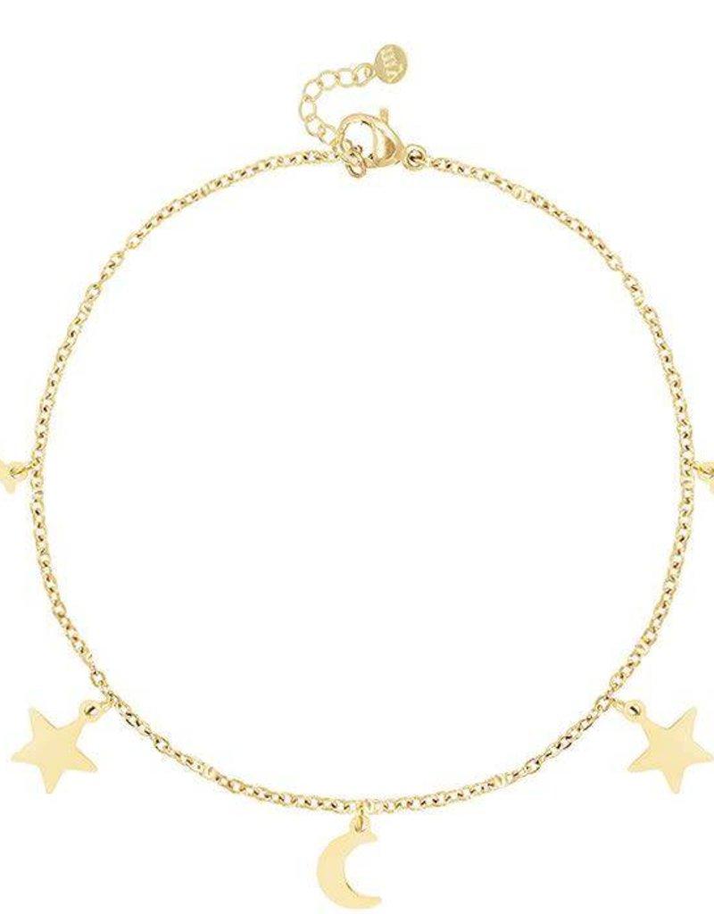 My Jewelry Armband Moon & Stars-gold