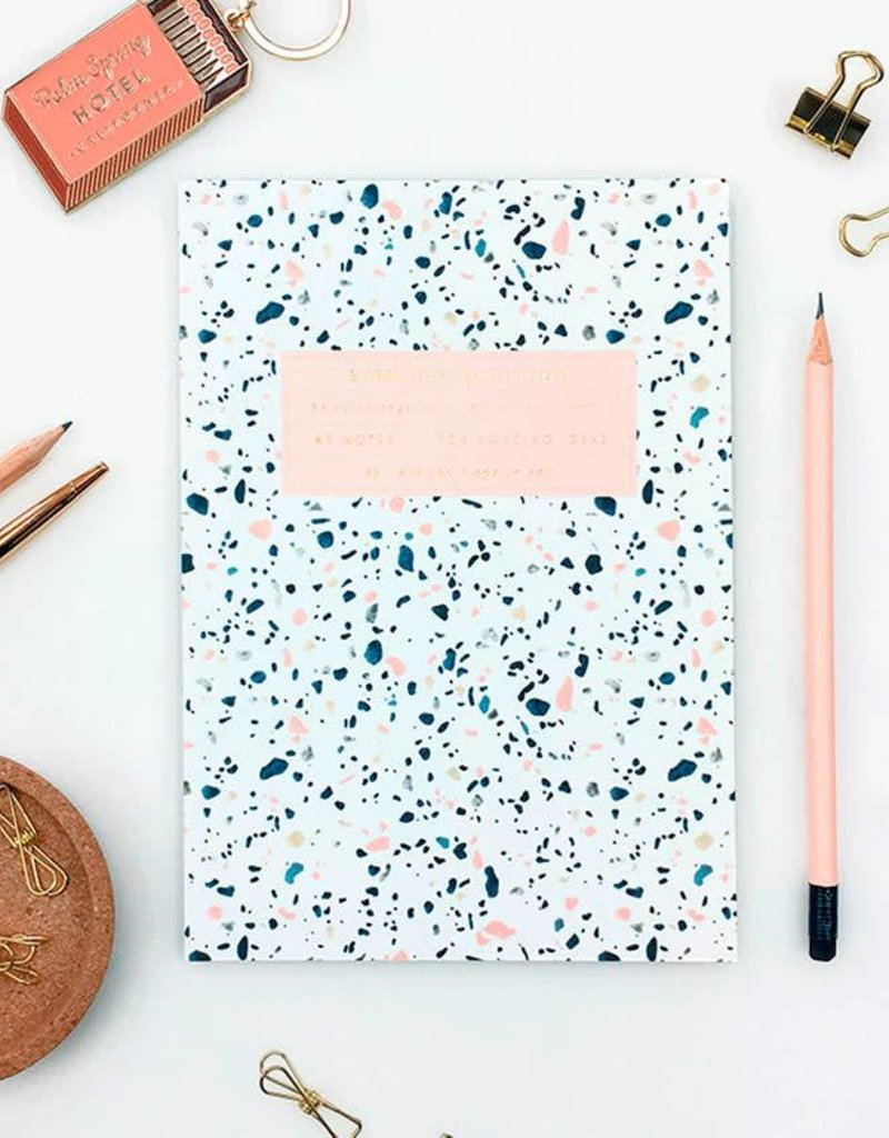 All the ways to say Notebook-Terrazzo