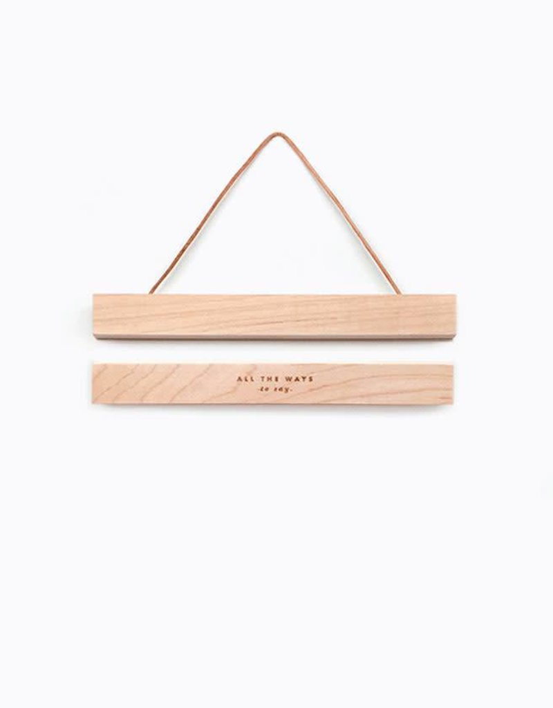 All the ways to say Wall Hanger Magnetic Clip A5-wood
