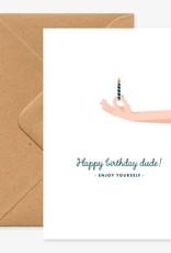 All the ways to say Wenskaart-Happy Birthday dude