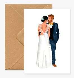 All the ways to say Wenskaart-Wedding Married lovers