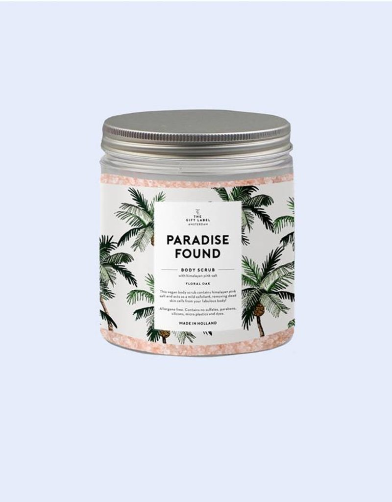 The Gift Label Body Scrub Himalaya-Paradise found (floral oak)