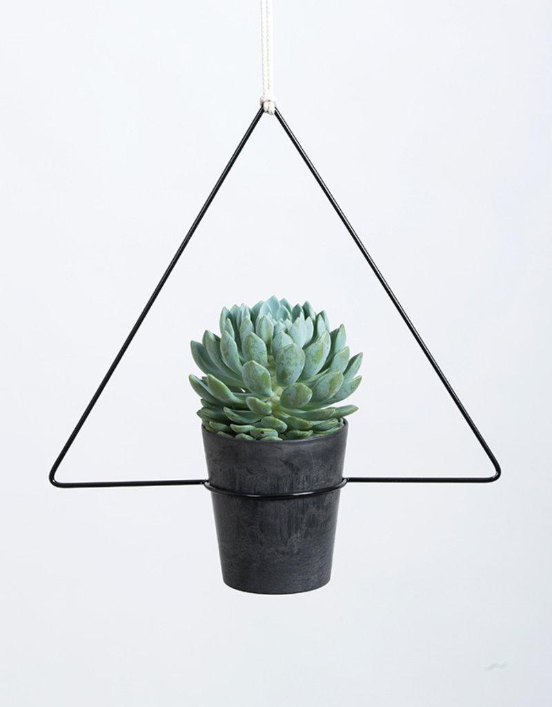Draadzaken Planthanger Trigona-black